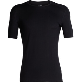 Icebreaker 200 Oasis SS Crew Shirt Men Black